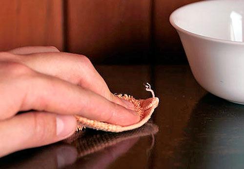 Натуральный полироль для мебели на основе масел своими руками